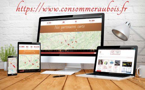 Création site Consommer Aubois 2020